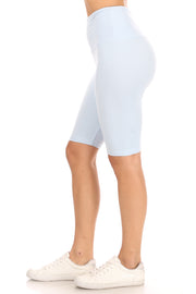 High Waist Super Soft Bike Short - Suzette Collection