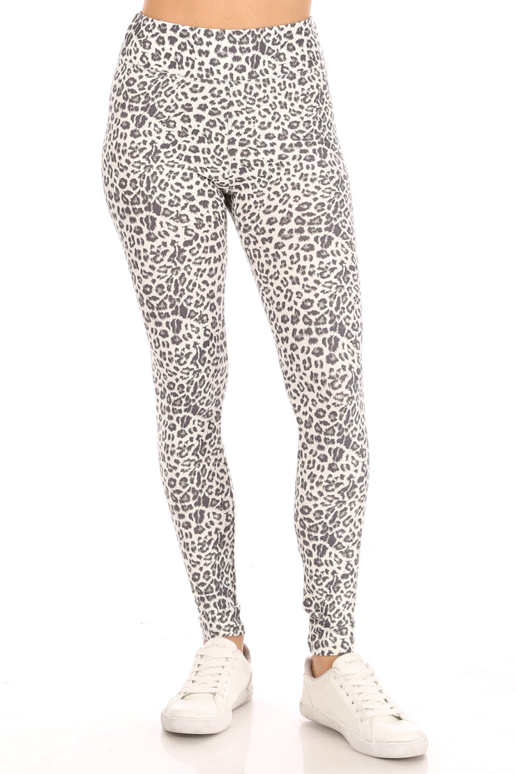 New Leopard Yummy Legging - Suzette Collection