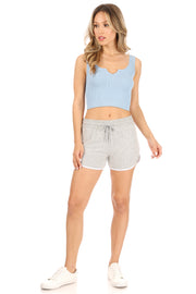 Hacci Soft Dolphin Short - Suzette Collection