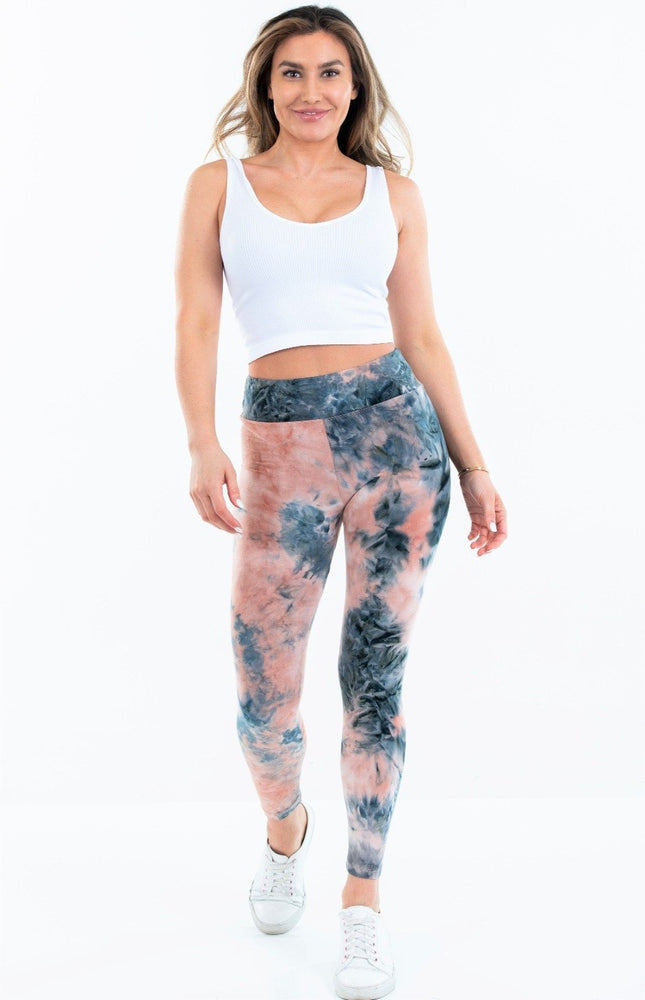 Brushed Poly Tye Dye Leggings