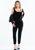 One Shoulder w/Strap Bodysuit