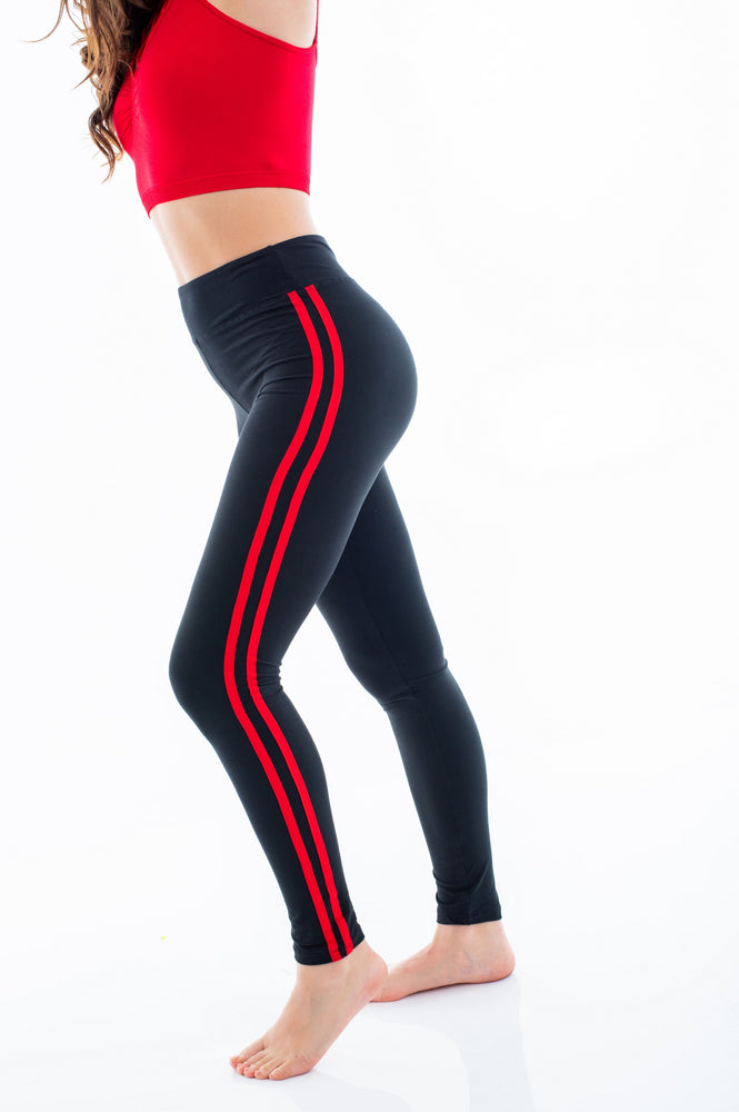 Side Double Stripe Leggings