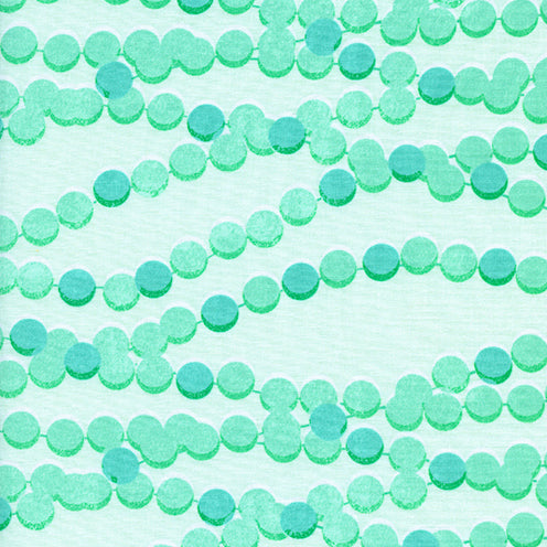 Trinket by Melody Miller : Candy Necklace in Aqua : Cotton and Steel