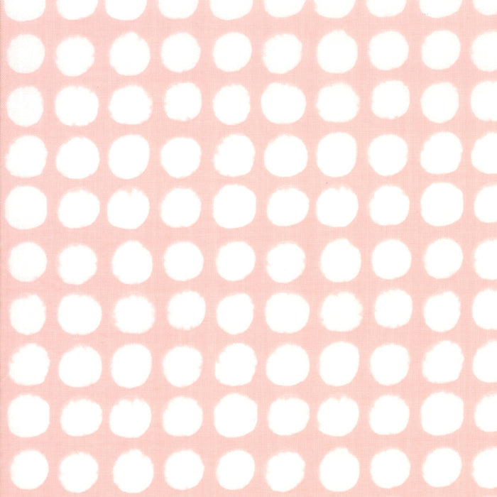 Breeze by Zen Chic : Big Dots in Coral : Moda