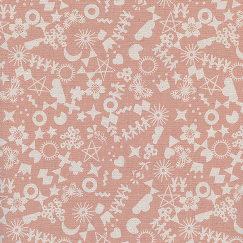 Paper Cuts by Rashida Coleman-Hale : Cut It Out in Peachy : Cotton and Steel