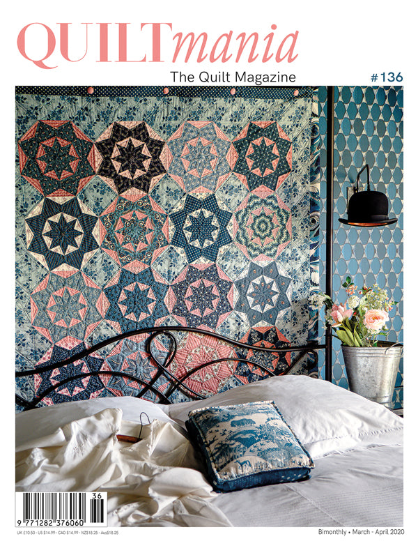 QUILTmania : Issue 136