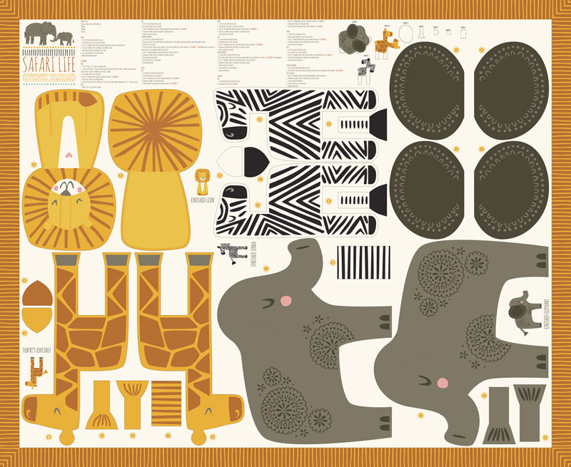 Safari Life by Stacy Iest Hsu : 20640-11 : Moda : Panel