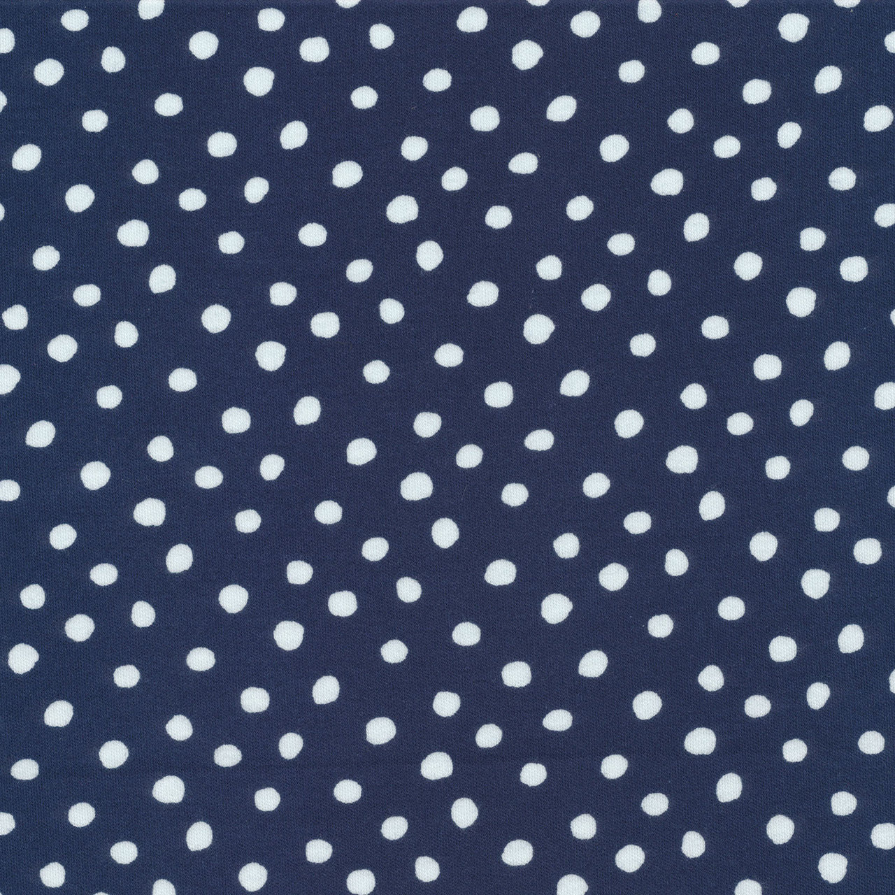 Knits by Jessica Jones : Dots in Navy : Cloud 9