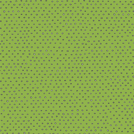Pixie Dots : Square Dot Blender in Lime : Quilting Treasures