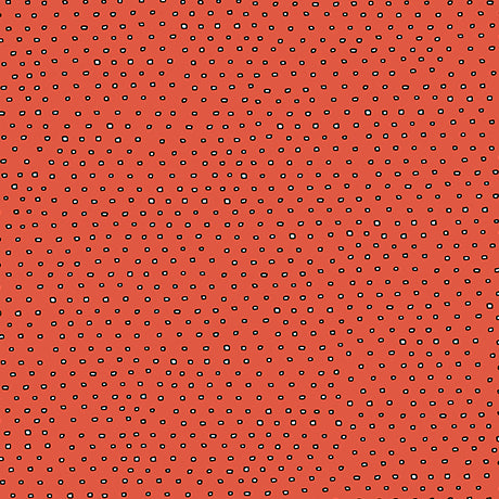 Pixie Dots : Square Dot Blender in Tomato : Quilting Treasures