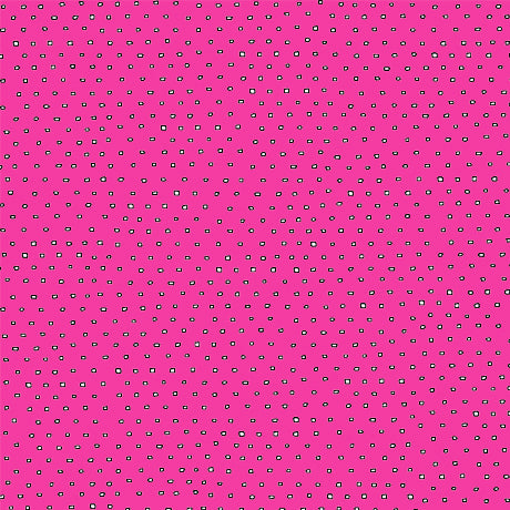 Pixie Dots : Square Dot Blender in Hot Pink : Quilting Treasures