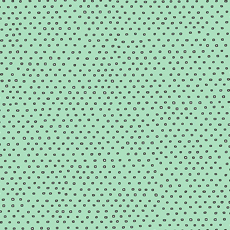 Pixie Dots : Square Dot Blender in Seafoam : Quilting Treasures