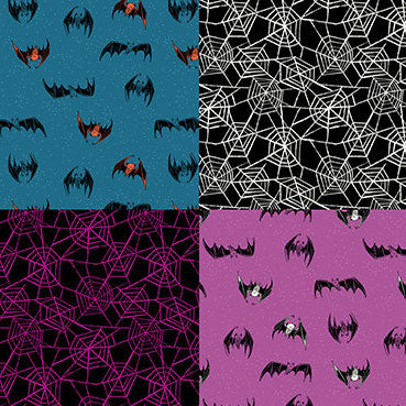 Candy Please by Sarah Watts : Bat Webs in Multi : Ruby Star Society : Panel