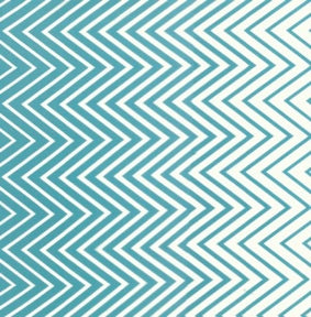 V & Co : Simply Style : Ombre Aquatic Blue Chevron 10813-18 : Moda