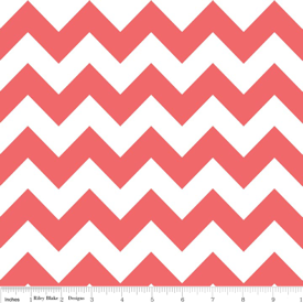 Medium Chevron C320-790 Rouge : Riley Blake