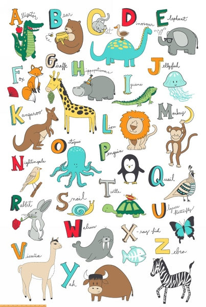 Animal ABCs by Whistler Studios : 41322P-X : Windham : Super Panel