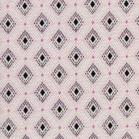 Lucky Strikes by Kim Knight : Nine Pin in Pink : Cotton and Steel : Lawn