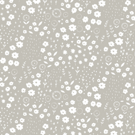 Faraway Forest by Lizzie Mackay : Daydream in Taupe : Blend