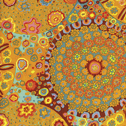 Kaffe Fassett : Millefiore in Orange : Free Spirit