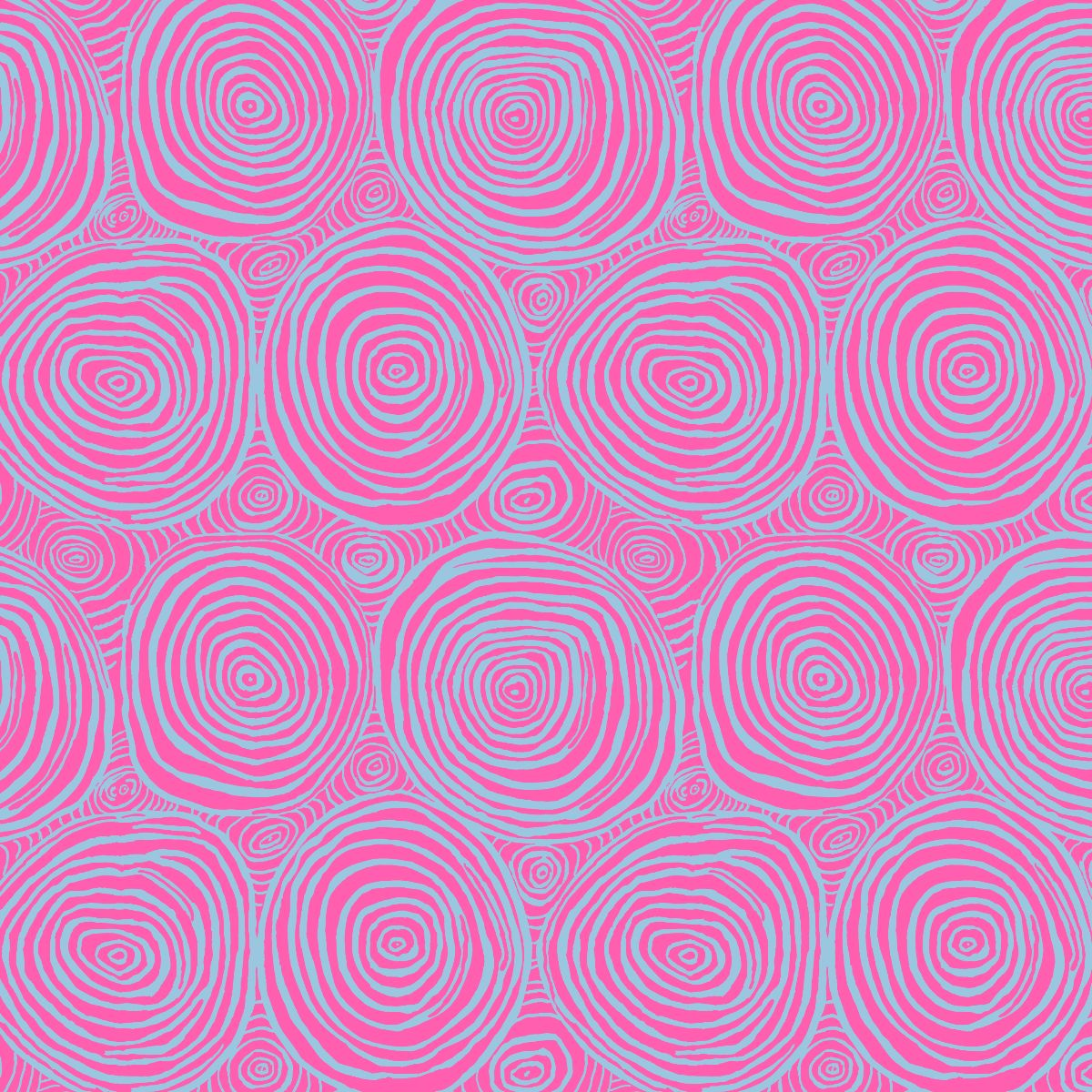 Brandon Mably for Kaffe Fassett Collective : Onion Rings in Pink : Free Spirit : Wideback