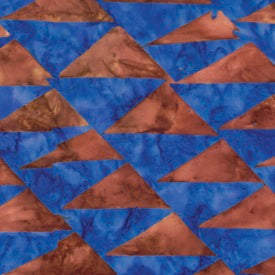 Artisan by Kaffe Fassett : Flags in Brown : Free Spirit : Batik