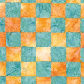 Artisan by Kaffe Fassett : Chess in Yellow : Free Spirit : Batik