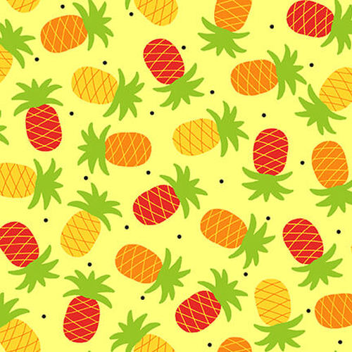 Gone Wild by Sarah Frederking : Pineapple in Yellow : Studio E