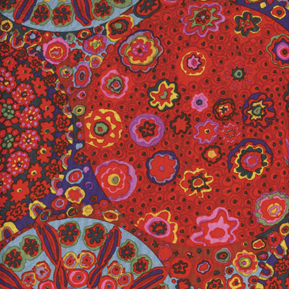 Kaffe Fassett : Millefiore in Red : Free Spirit