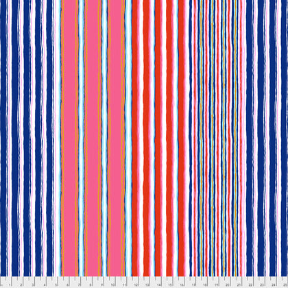 Kaffe Fassett : Regimental Stripe in Contrast : Free Spirit