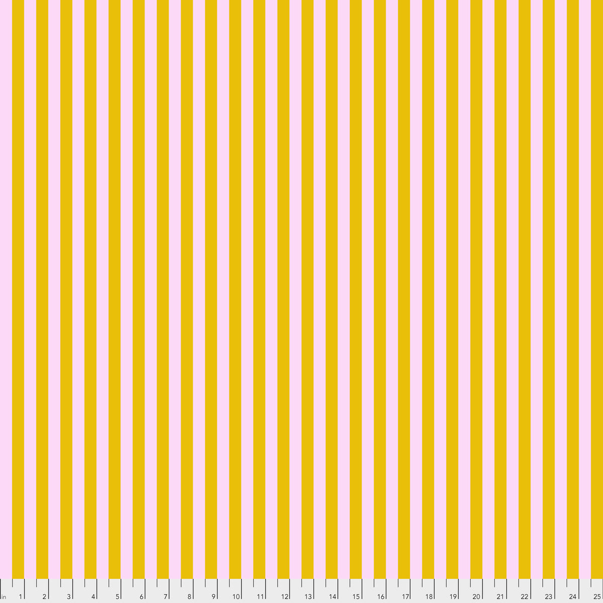 All Stars by Tula Pink : Tent Stripe in Marigold : Free Spirit