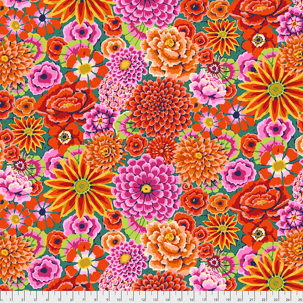 Kaffe Fassett Collective Fall 2018 : Enchanted in Red : Free Spirit