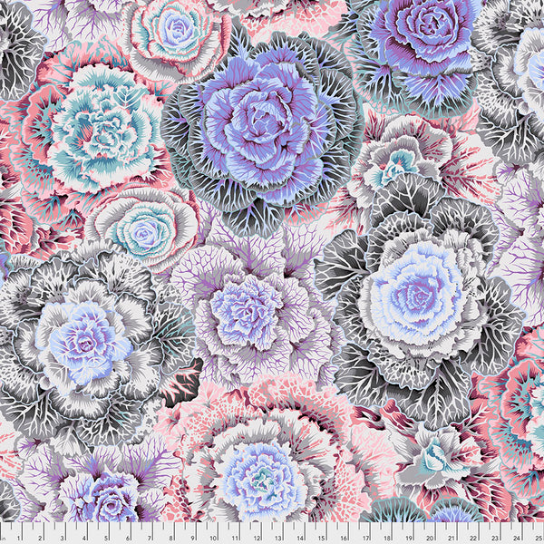 Kaffe Fassett Collective Fall 2018 : Brassica in White : Free Spirit