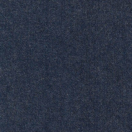 Indigo Denim 8oz : Indigo Washed #1467 : Robert Kaufman