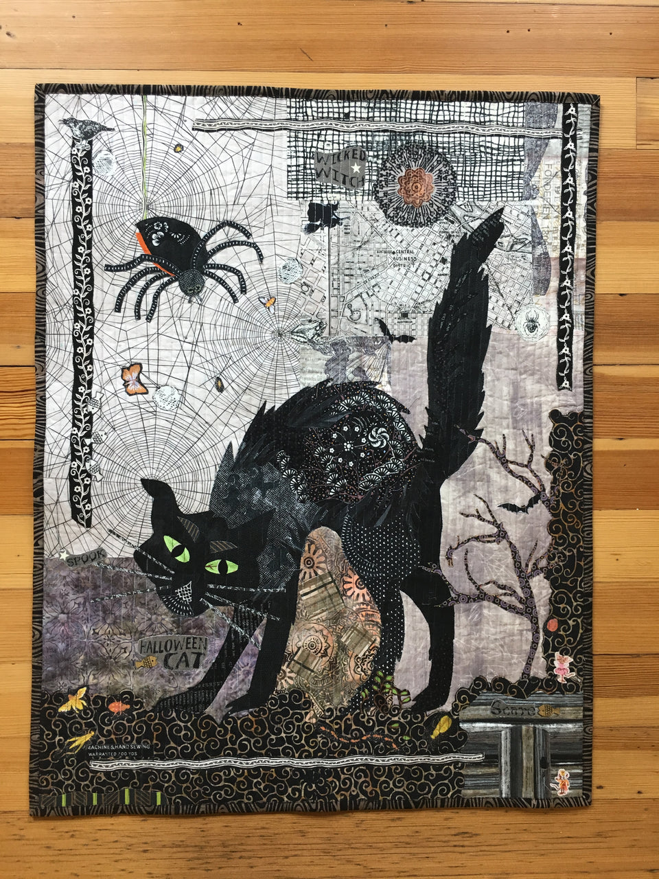 Black Cat Collage Kit