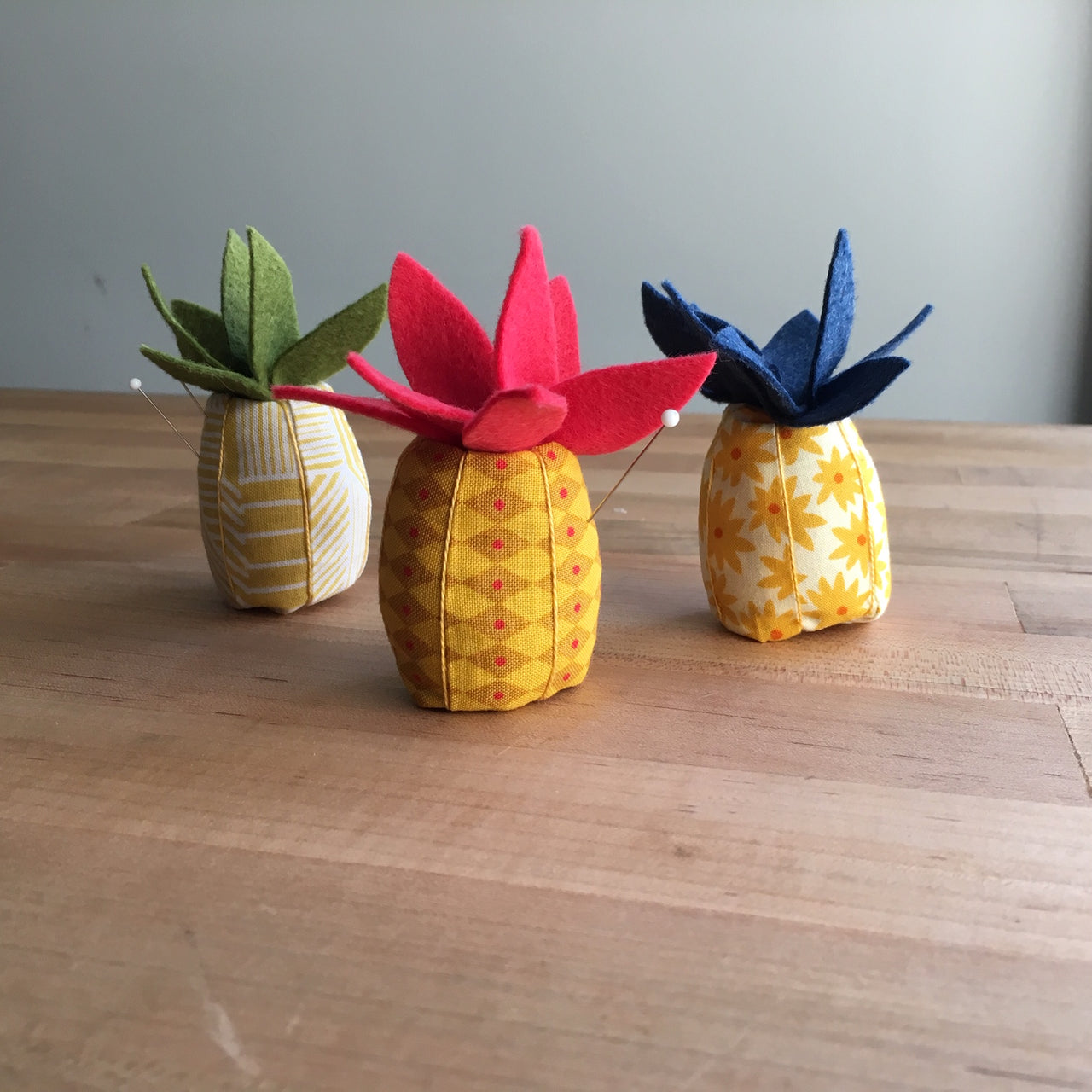 Pineapple Crush Pincushion Kit