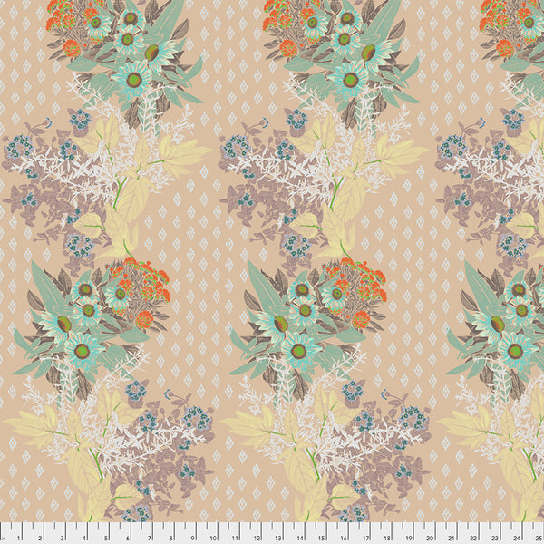 One Mile Radiant by Anna Maria Horner Conservatory Chapter 3 : Front Walk in Antique : Free Spirit Fabrics