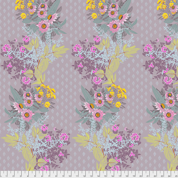 One Mile Radiant by Anna Maria Horner Conservatory Chapter 3 : Front Walk in Heather : Free Spirit Fabrics