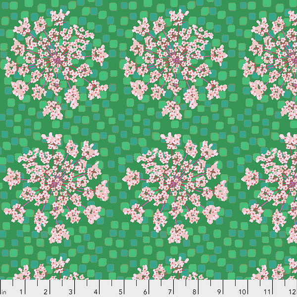 One Mile Radiant by Anna Maria Horner Conservatory Chapter 3 : Queen Anne in Kiwi : Free Spirit Fabrics