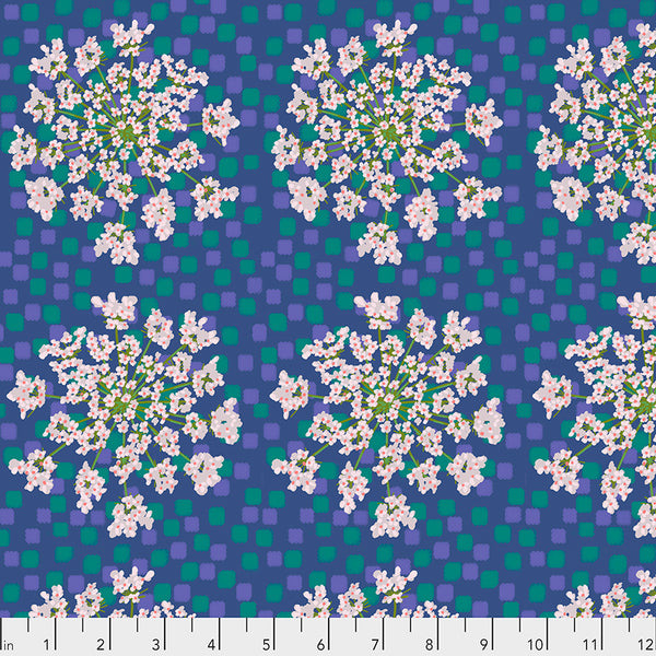 One Mile Radiant by Anna Maria Horner Conservatory Chapter 3 : Queen Anne in Lagoon : Free Spirit Fabrics