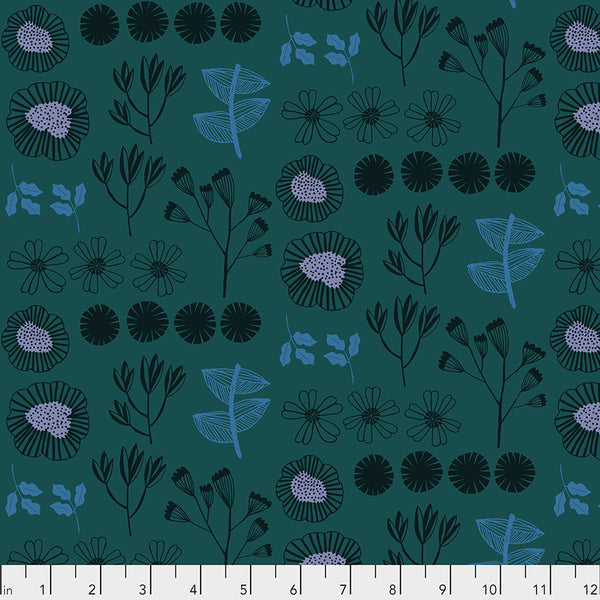 After the Rain by Bookhou Conservatory Chapter 3 : Inventory in Marine : Free Spirit Fabrics
