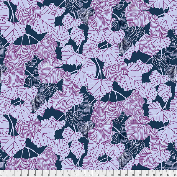 After the Rain by Bookhou Conservatory Chapter 3 : Shadow in Navy : Free Spirit Fabrics