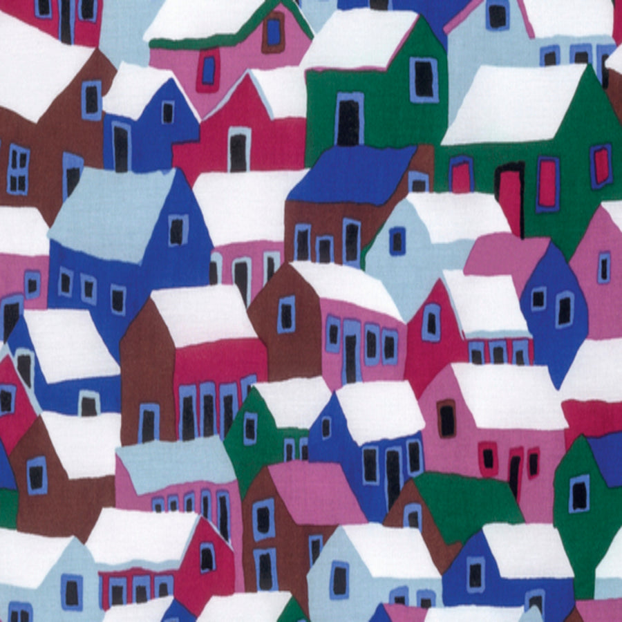 Brandon Mably : Shanty Town in Winter : Free Spirit