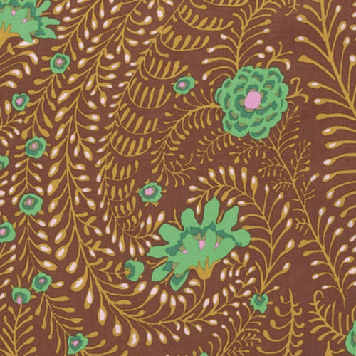 Kaffe Fassett : Ferns in Brown : Free Spirit