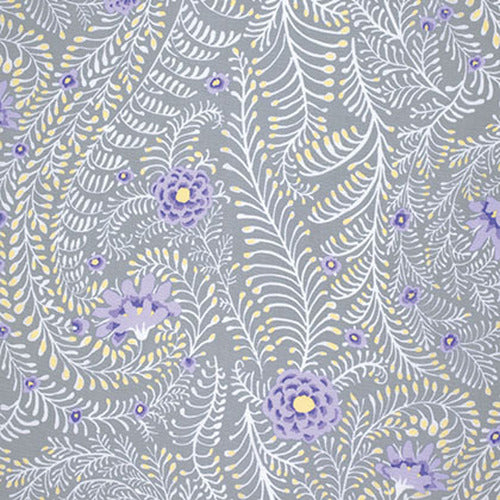 Kaffe Fassett : Ferns in Grey : Free Spirit