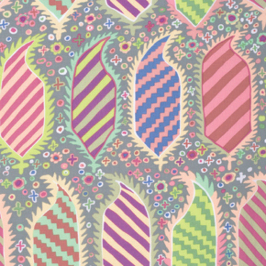Kaffe Fassett : Striped Herald in Grey : Free Spirit