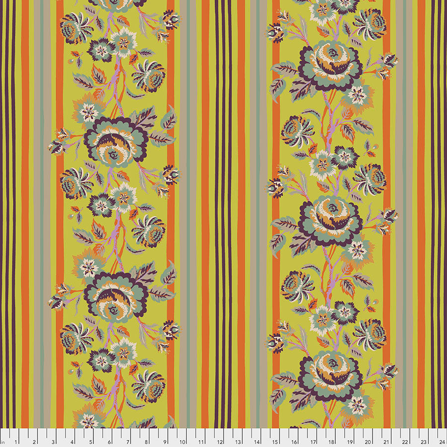 New Vintage by Kathy Doughty : Vintage Rose in Citron : Free Spirit