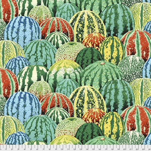 Philip Jacobs : Watermelons in Green : Free Spirit