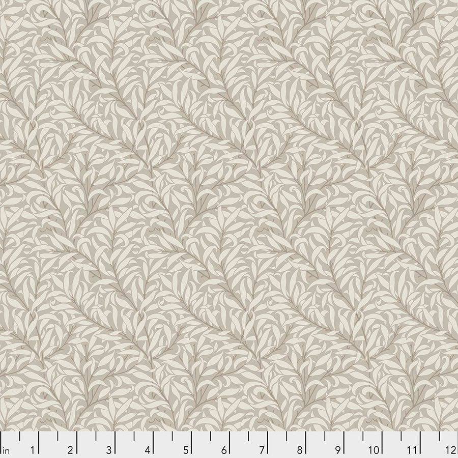 Pure Morris Mineral by Morris & Co : Pure Willow Bough in Linen : Free Spirit