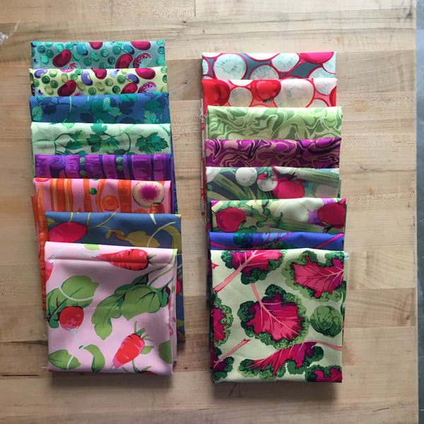 Veggies by Martha Negley Fat Quarter Bundle