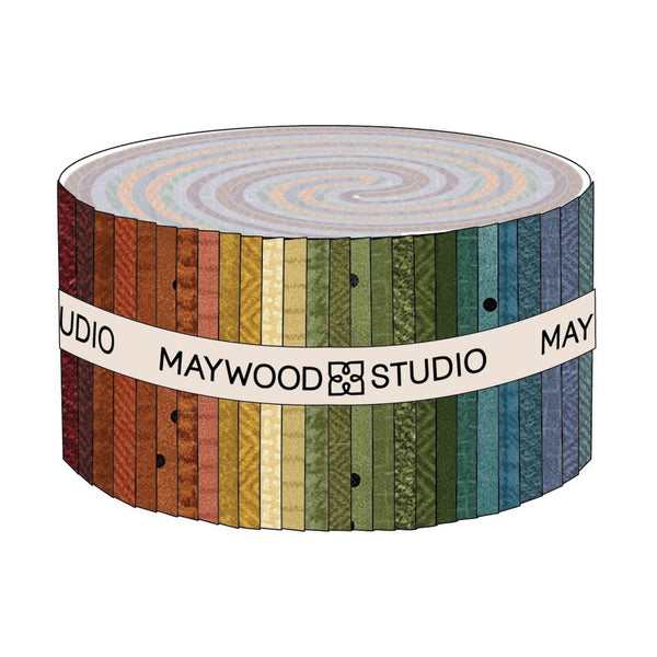 Woolies Flannel by Bonnie Sullivan : Jelly Roll in Colors : Maywood Studios